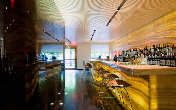 La barra del restaurante Marea